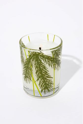 Frasier Fir Votive Candle 2 oz. CLEAR