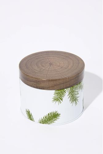 Frasier Fir Candle Tin 6.5 oz. WHITE-MULTI--