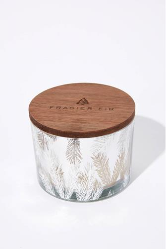 Frasier Fir Statement 3-Wick Candle SILVER