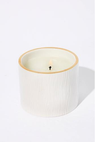 Frasier Fir Ceramic Petite Candle WHITE