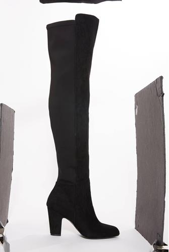 Canyons Over The Knee Boot BLACK