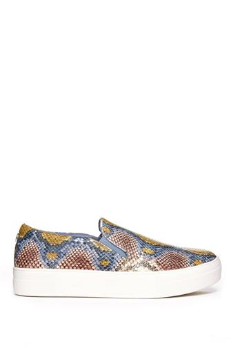 Gills Multi Snake Sneaker BROWN-MULTI--