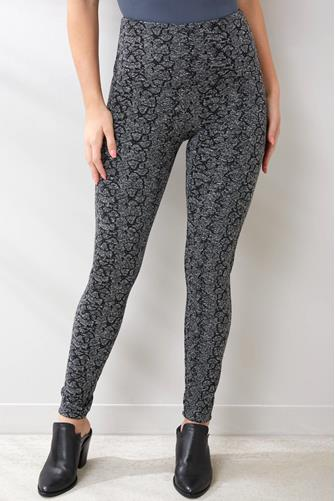Urban Jacquard Signature Leggings GREY MULTI -