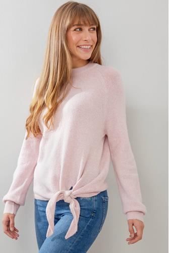 Side Tie Pullover PINK