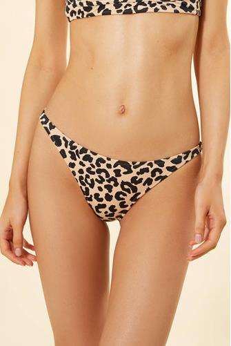 Lala Leopard Marlowe Bikini Bottom MULTI