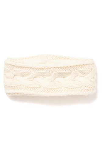 Cable Knit Headwrap IVORY