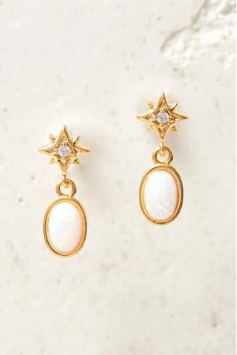 Iris Earrings GOLD