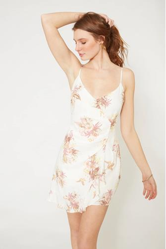 Tropic Dreaming Mini Dress WHITE-MULTI--