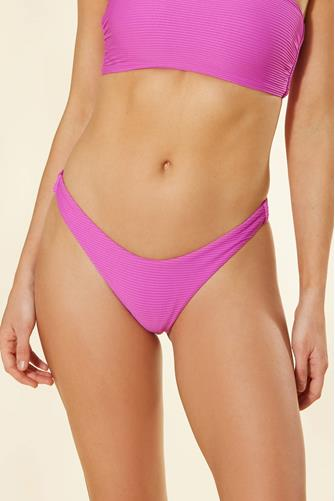 Purple Haze Essential Rib Hipster Bikini Bottom PURPLE