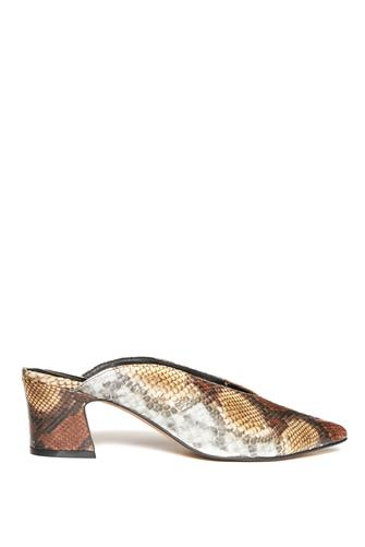 Pollie Snake Pointy Mule MULTI