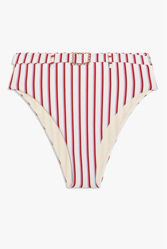Emily Vintage Americana Bikini Bottom WHITE-MULTI--