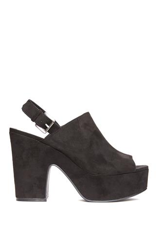 Black Bella Platform Sandal BLACK
