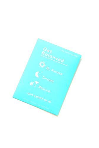 The Good Patch 12 Pack Get Balanced Patches TEAL