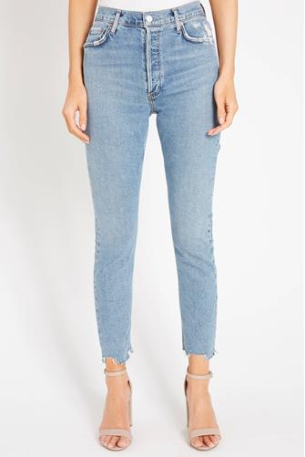 Nico Hi Rise Slim Leg Jean in Rooted MEDIUM-DENIM