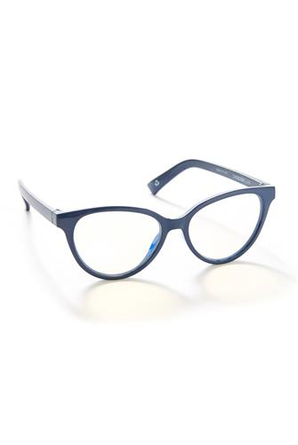 The Book Club The Art Of Snore Blue Light Glasses NAVY