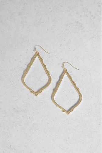 Gold Sophee Drop Earrings GOLD
