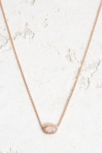Chelsea Rose Gold Necklace ROSE