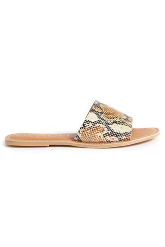 White Snake Cabana Slide Sandal WHITE-MULTI--