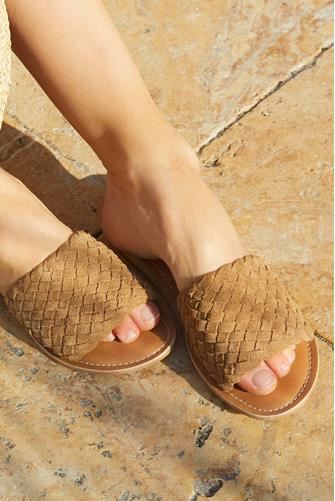 Tan Pipeline Slide Sandal TAN