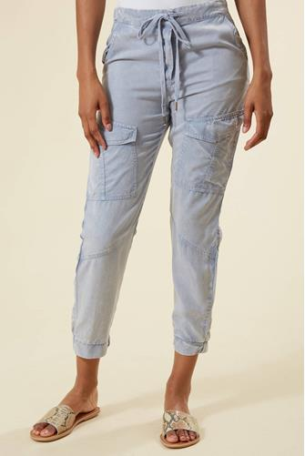 Halsey Tencel Dyed Cargo Pant LITE-BLUE