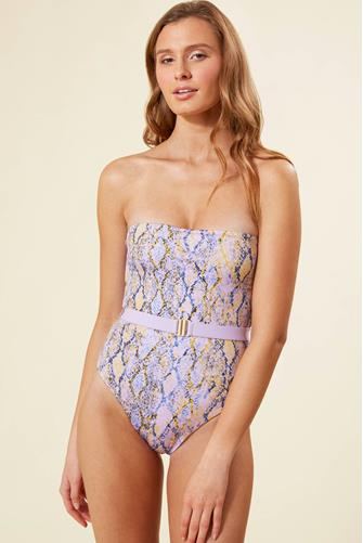 Serpentina Lockhart One Piece Swimsuit PURPLE-MULTI--