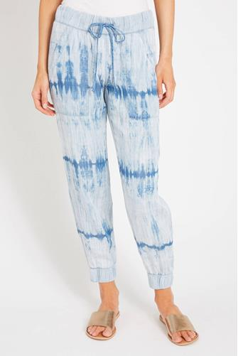 Cloth & Stone Blue Tie Dye Ombre Jogger BLUE MULTI -