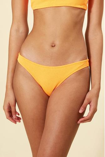 Papaya Reef Hipster Bikini Bottom ORANGE