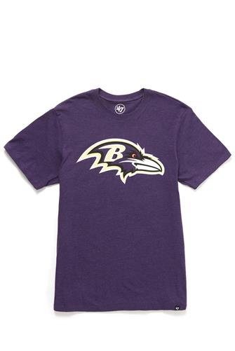 Baltimore Ravens Club Tee PURPLE