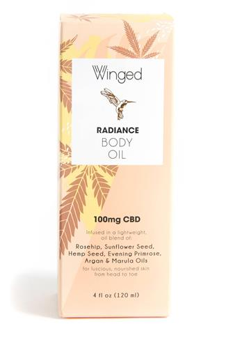 Radiance CBD Body Oil ORANGE-MULTI--