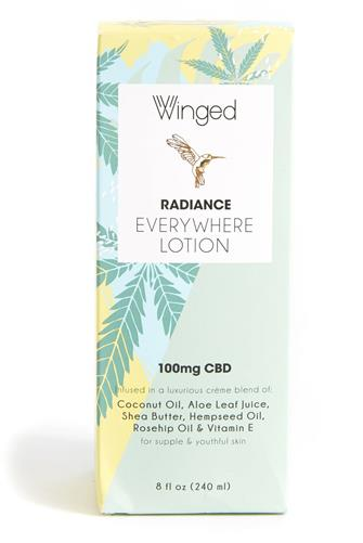 Radiance CBD Everywhere Lotion 8 oz. GREEN-MULTI--