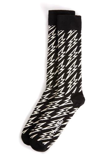 Flash Lightning Socks BLACK