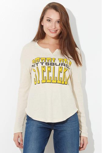 Pittsburgh Steelers Sunday Thermal Top OATMEAL