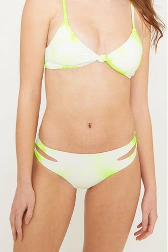 Golden Palm Tie Dye Charmer Bikini Bottom MULTI