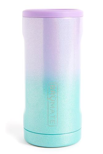 Glitter Mermaid Hopsulator Slim Can Cooler MULTI