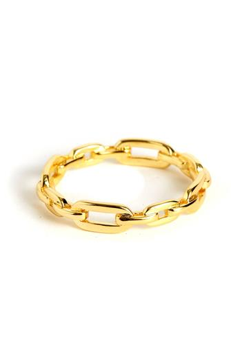 PARKER LINK RING GOLD