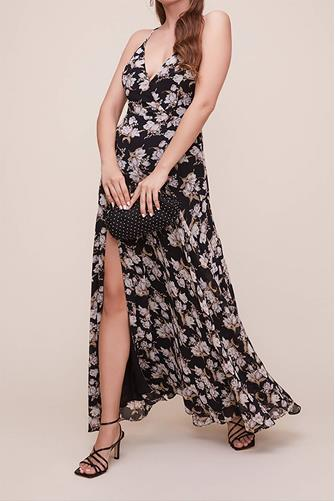 Pandora Black Floral Maxi Dress BLACK MULTI -