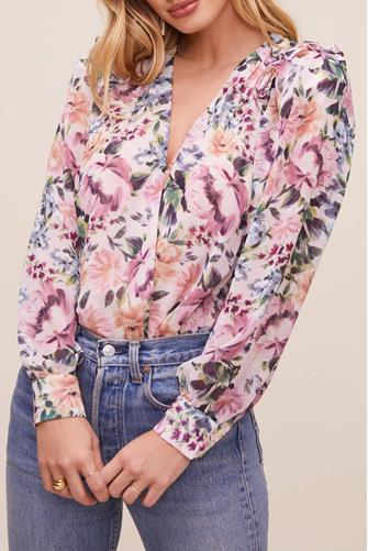 Matilda Floral Bodysuit PINK-MULTI--