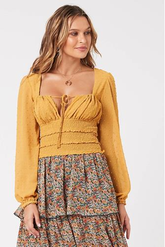 Dreamland Blouse YELLOW