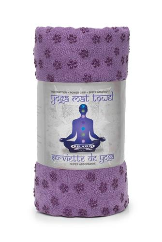 Purple Anti Slip Yoga Towel PURPLE
