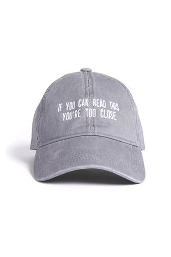 If You Can Read This Baseball Hat GREY