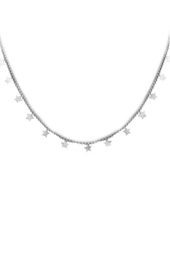 Star Charm Silver Necklace SILVER