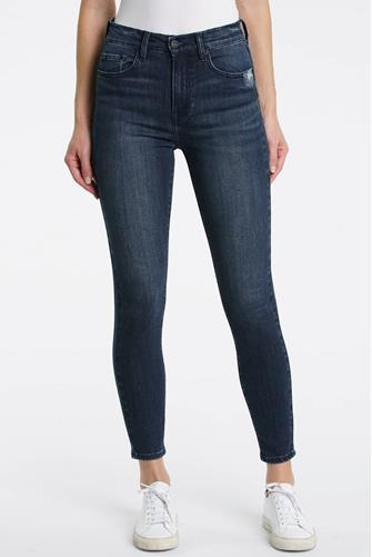 Aline Hi Rise Skinny Jean in Lake Como DARK DENIM