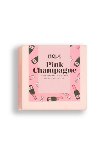 NCLA Beauty Pink Champagne Sugar, Sugar Lip Scrub PINK