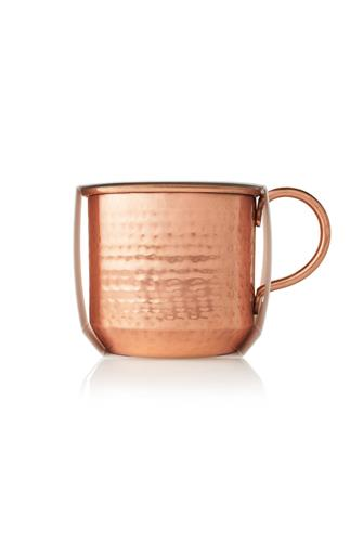 Simmered Cider Copper Cup Candle 10 oz. GOLD