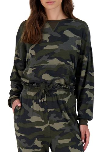 Nothin' To See Here Camo Sweatshirt CAMO