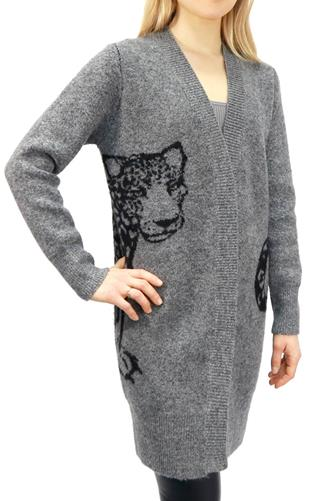 Leopard Cardigan GREY
