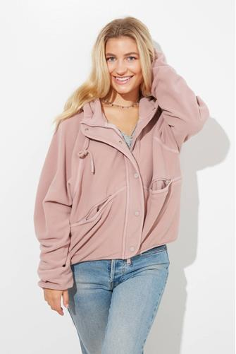 Dream Team Recycled Fleece TAUPE