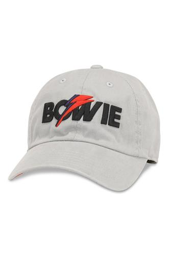 New Raglan David Bowie Baseball Hat WHITE
