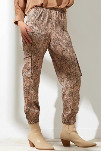Abstract Leopard Cargo Jogger MULTI