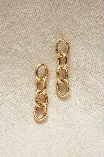 Link Earrings GOLD